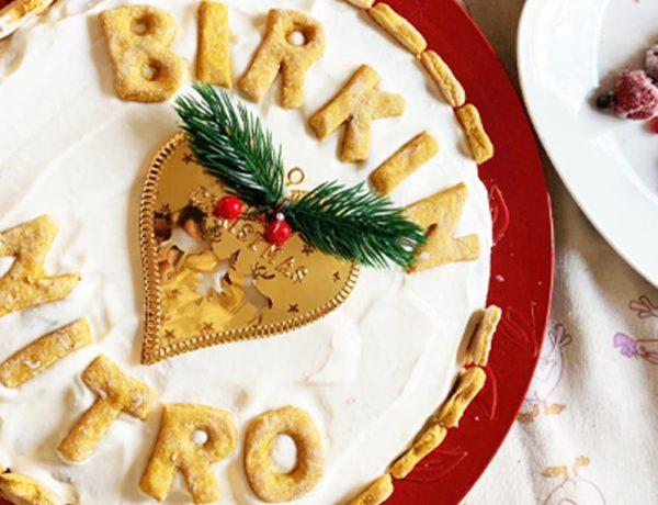 Torta natalizia per cani