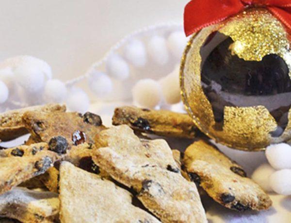 biscotti tacchino e mirtillo