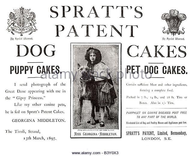 storia del cibo industriale per cani