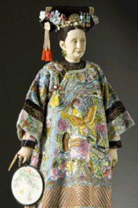 Tsu Hsi, detta Cixi, imperatrice cinese