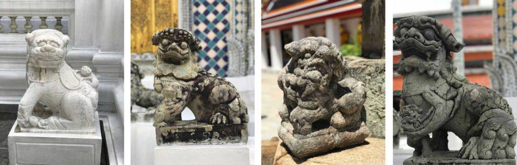 statue del cane di Foo